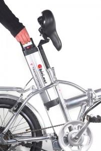 Bicicletas eléctricas equipadas con baterías de litio facilmente extraibles