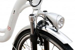 Ebici 4000, bicicleta eléctrica Pedalec detalle horquilla