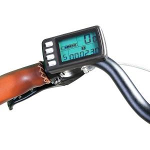 Bici eléctrica Pedalec City 5000SP. Detalle panel LCD