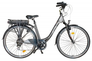 Bici eléctrica Pedalec City 5000SP. Vista frontal