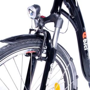Bici eléctrica Pedelec 4000SP, detalle horquilla
