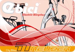 Catalogo Ebici bicicletas eléctricas 2012