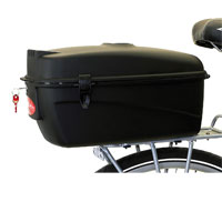 Transportin trasero rígido para bicicleta
