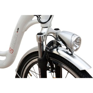 Ebici 4000, bicicleta eléctrica Pedelec. Detalle horquilla